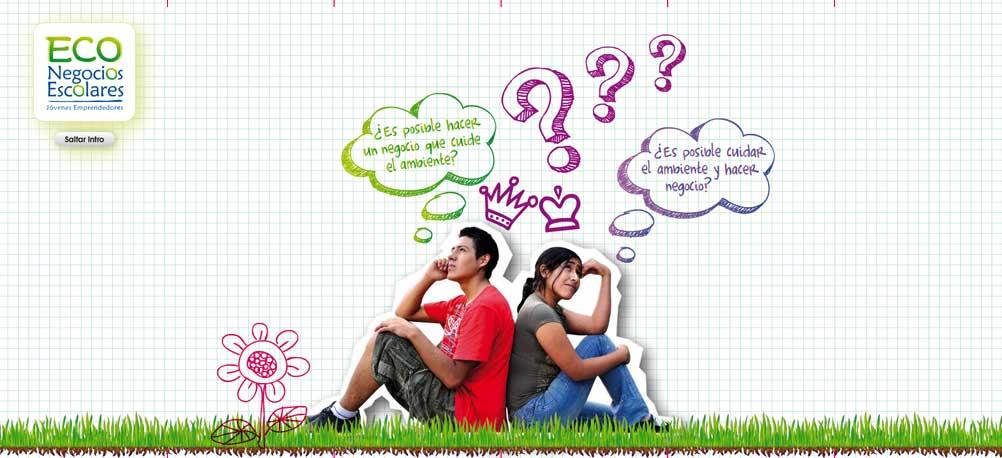 website econegocios escolares